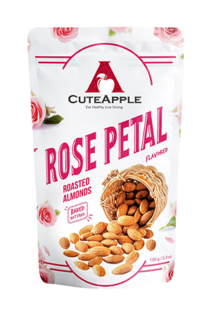rose petal almonds